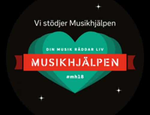 Grafokett – a christmas gift to Musikhjälpen