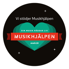 Vi stödjer musikhjälpen 2018 - Alla rätt att funka olika